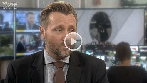 Indslag om Gullaschbaronen på Tv2 Fyn